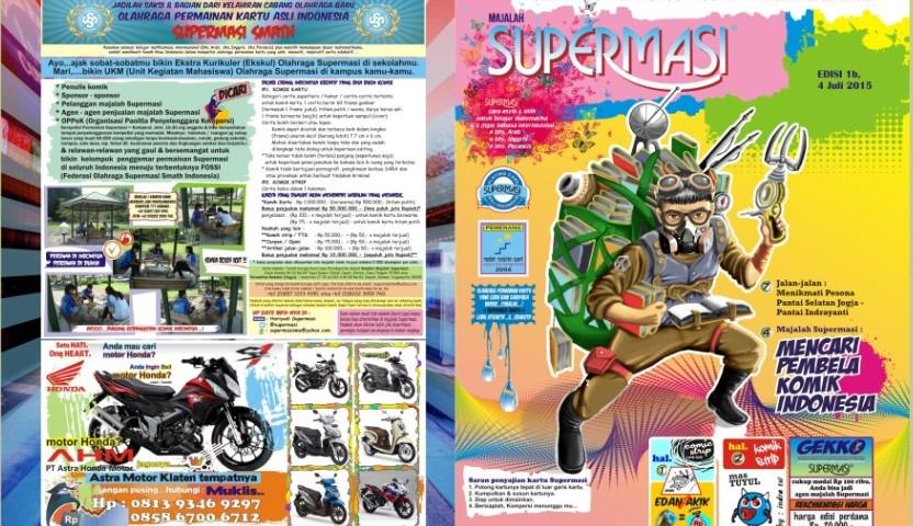 majalah komik supermasi